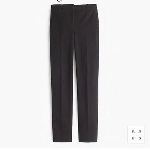 J Crew Cameron slim crop pant in bi-stretch cotton